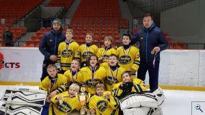 HC Kopřivnice na hokejovém turnaji 4. tříd ve Frýdku Místku
