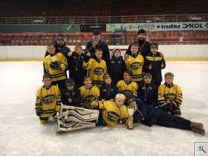 HC Kopřivnice na mezinárodním hokejovém turnaji 4. tříd v Karviné
