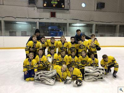 4. třída HC Kopřivnice vítězná na turnaji v Rožnově
