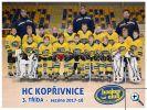 Představujeme mládež HC KOPŘIVNICE sezóna 2017-2018 - 3. třída