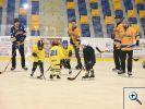Fotogalerie silvestrovského zápasu přípravky HC Kopřivnice
