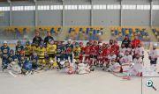 Sestava HC Kopřivnice přípravky - přípravný zápas sezöny 2018