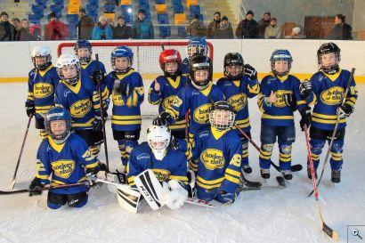 Modro-žlutá hokejová parta! :-)