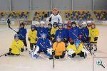 Tomáš Fleischmann na tréninku mládeže