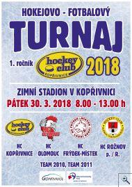 Hokejovo - fotbalový turnaj HC Kopřivnice ročníků 2010 a 2011