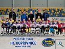 Fotogalerie - společná fotka Pojď hrát hokej HC Kopřivnice