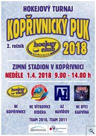 Hokejový turnaj Kopřivnický puk ročníků 2010 a 2011