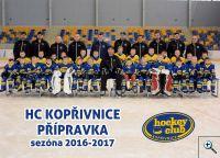 HC Kopřivnice přípravka sezóna 2016-2017