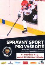 Týden hokeje na stadionu HC Kopřivnice - plakát